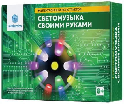Конструктор электронный Intellectico Светомузыка своими руками 1005