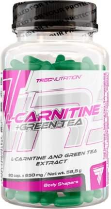 Trec Nutrition L-Carnitine + Green Tea, 90 капсул