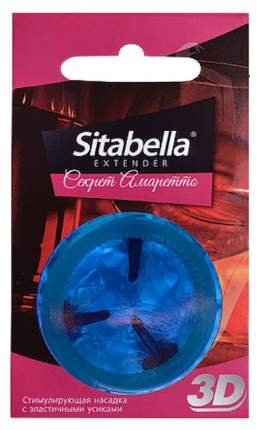 Презерватив-насадка Sitabella 3D Секрет амаретто