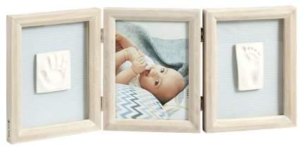 Фоторамка Baby Art тройная классика беленое дерево