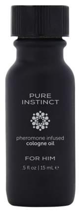 Мужское парфюмерное масло с феромонами Pure Instinct 15 мл