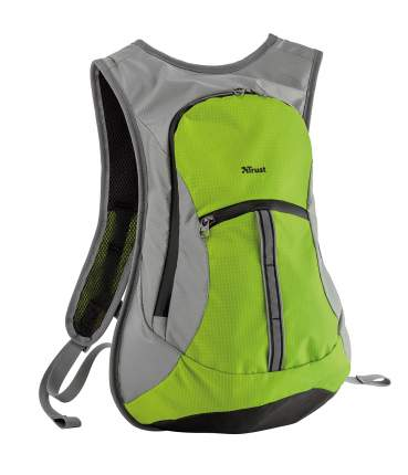 Рюкзак Trust Zanus серый/зеленый 12 л
