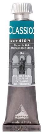 Масляная краска Maimeri Classico сине-зеленый фталоцианиновый 20 мл