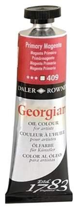 Масляная краска Daler Rowney Georgian малиновый основной 75 мл