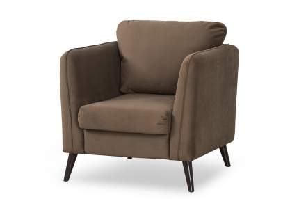Кресло для гостиной Hoff Аликанте, коричневый