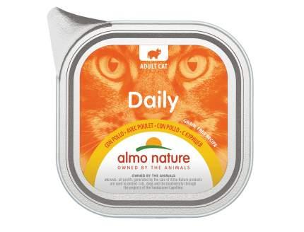 Консервы для кошек Almo Nature Daily курица, 100г