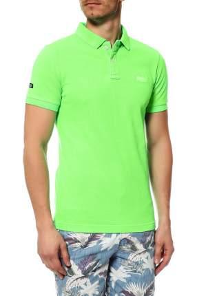 Поло мужское Superdry зеленое XL