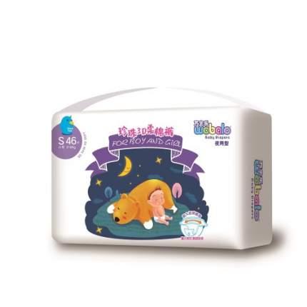 Подгузники для новорожденных Wobalo S 3-6кг