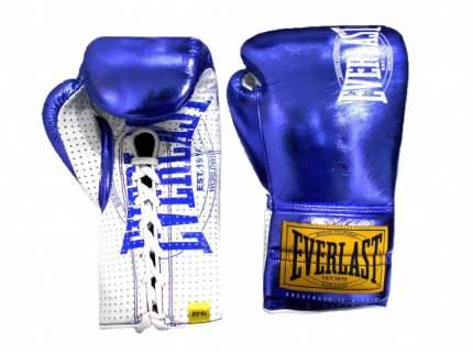 Перчатки боевые Everlast 1910 Classic синие 10 унций