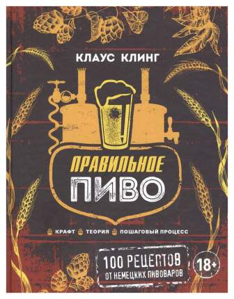 Правильное пиво, крафт, теория, пошаговый процесс