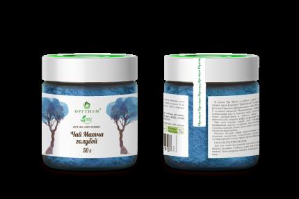 Чай матча Оргтиум голубой порошок тайского синего чая анчан 50 г