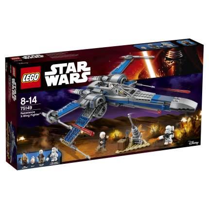 Конструктор LEGO Star Wars Истребитель Сопротивления типа Икс (75149)