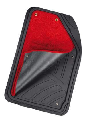 Комплект ковриков в салон автомобиля Autoprofi для (TER-420 BK/RD)
