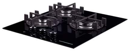 Встраиваемая варочная панель газовая KUPPERSBERG fQ4TG B Black