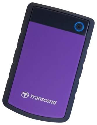 Внешний диск HDD Transcend StoreJet 2TB Purple/Black (TS2TSJ25H3P)