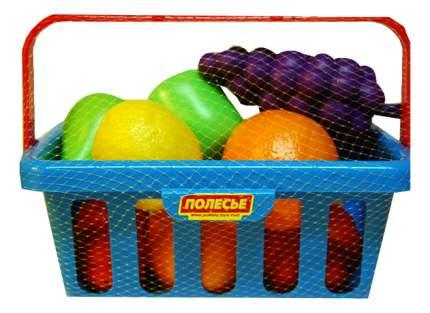 Набор продуктов игрушечный Полесье Набор продуктов с корзинкой №2