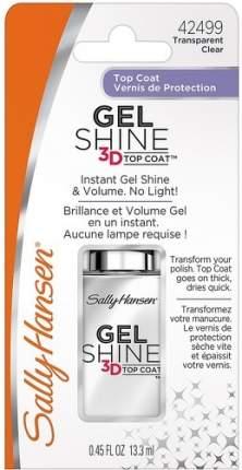 Верхнее покрытие с гелевым блеском SALLY HANSEN Gel Shine 3D top coat