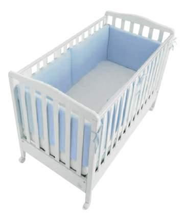Текстильный бортик для кроватки Italbaby Для кровати голубой