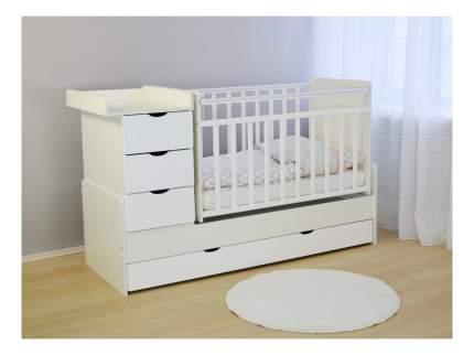 Кровать СКВ-Компани СКВ-5 Жираф белый