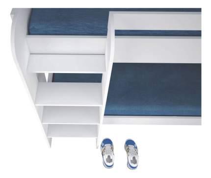 Кровать-чердак Polini Simple 5000, белый