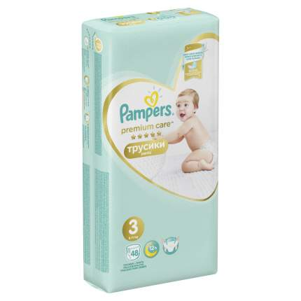 Трусики Pampers Premium Care 3 (6-11 кг), 48 шт.