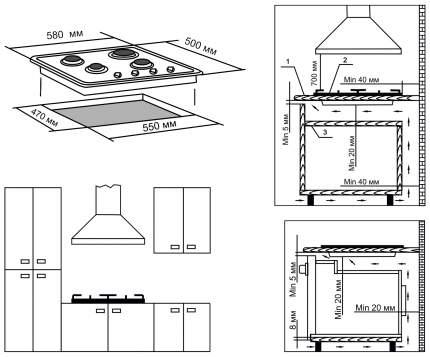 Встраиваемая варочная панель газовая Electronicsdeluxe 5840.01 гмв-002 White