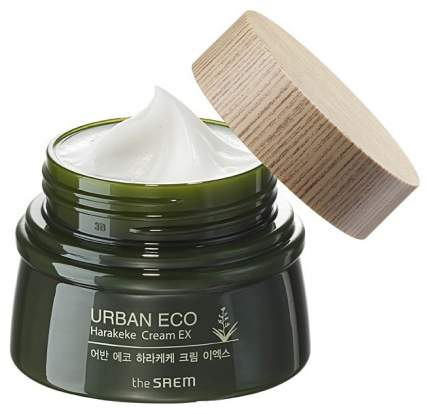 Ультраувлажняющий питательный крем для лица The Saem Urban Eco Harakeke Cream, 60 мл