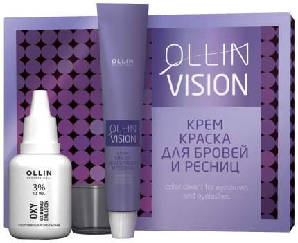 Краска для бровей Ollin Professional Ollin Vision Set Brown 20 мл