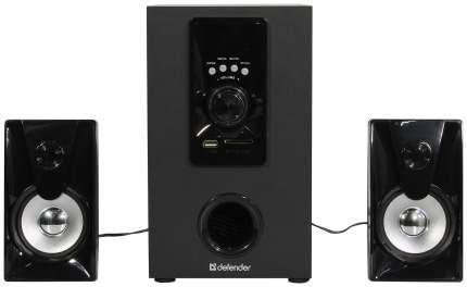 Колонки компьютерные DEFENDER X100 Черный 2,1,10W, Bluetooth, FM/MP3/SD/USB,ДУ