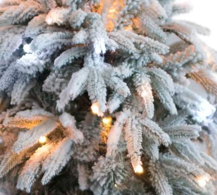 Ель искусственная CRYSTAL TREES маттерхорн 210 см