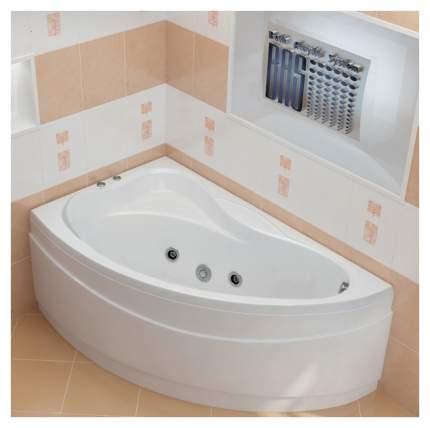 Акриловая ванна BAS Вектра 150х90 c гидромассажем правая