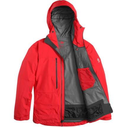 Спортивная куртка мужская The North Face Summit L5 Gore-Tex Pro, fiery red, L
