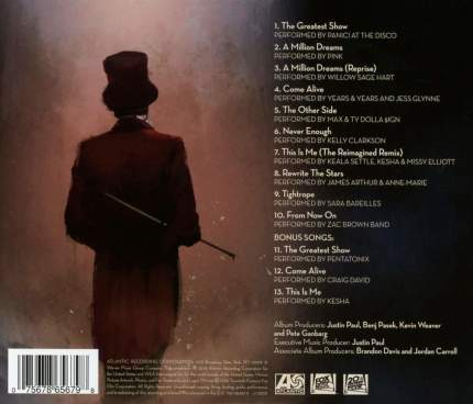"Аудио диск Various Artists ""The Greatest Showman - Reimagined"" CD"