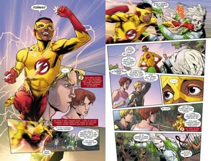 Графический роман Вселенная DC. Rebirth Флэш. Книга 2, Скорость тьмы
