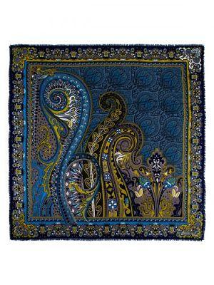 Платок женский Eleganzza D34-1219 синий