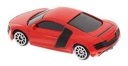 Машина металлическая RMZ City 1:64 Audi R8 V10, без механизмов, (красный) 344996S-RD
