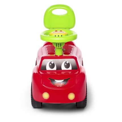 Каталка детская Baby Care Dreamcar музыкальный руль, цвет красный