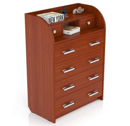 Комод Мебельный Двор К-6 80х43х110 см, яблоня