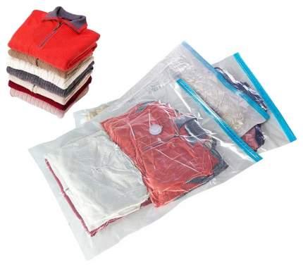 Пакет Рыжий Кот VB2, вакуумный, для хранения, с клапаном, 70х100см, толщина 0,07мм, 312602