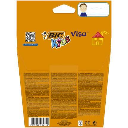 Фломастеры цветные BIC Kids Visa Коробка x12