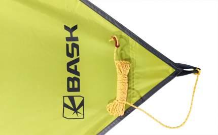 Тент Bask Canopy V3 3525-9421 зеленый светлый 6 x 6 м