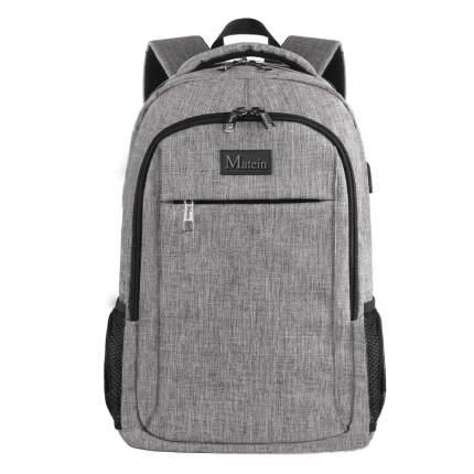 "Рюкзак для ноутбука Matein Mlassic, 15,6"", серый"