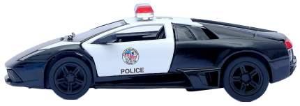 Машина инерционная Kinsmart Lamborghini Murcielago LP640 Police, металл, масштаб 1:36