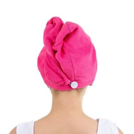 Полотенце-тюрбан для волос Verona, розовое
