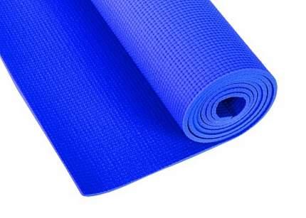 Коврик для фитнеса и йоги Larsen PVC синий 4 мм 173 см