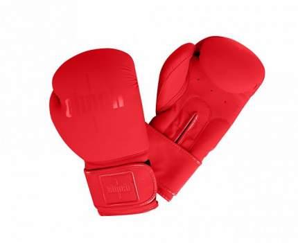 Боксерские перчатки Clinch Mist красные 12 унций