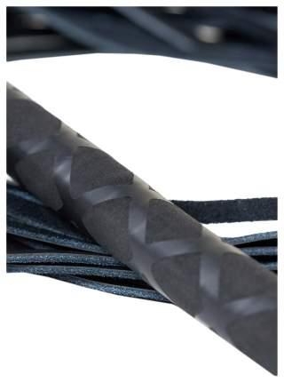 Плеть многохвостая ToyFa кожаная черный