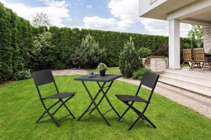 Набор садовой мебели Hoff Toscana 80323618 black 3 предмета