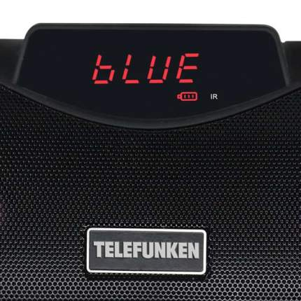 Магнитола Telefunken TF-PS1260B Black