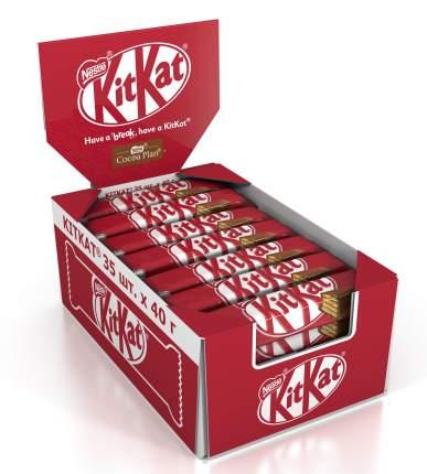 Батончик Nestle Kitkat шоколадный с хрустящей вафлей 40 г 35 штук
